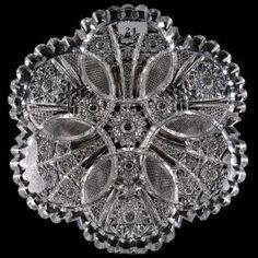 Antique Glass, Medium Art, Cut Glass, Woody, Vintage Antiques, Cool Art, Auction, Plates, American