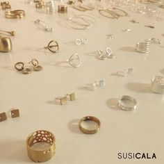 """25 Likes, 1 Comments - S U S I C A L A ® (@susicala_jewelrydesign) on Instagram: """"F R I D A Y 😄 Which should I wear tonight? 😉💅🏻💍🍸☺️💘 --------------------- #TGIF #friday…"""""""