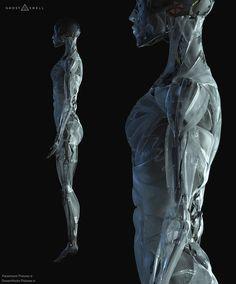 """ArtStation - Concept Design work for """"Ghost In The Shell"""" film, Vitaly Bulgarov"""