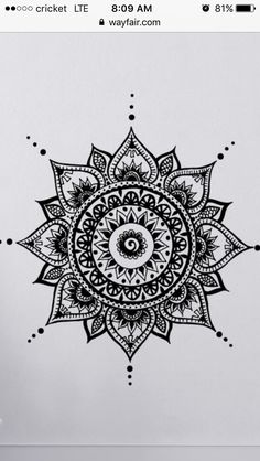 I genuinely love the colorations, outlines, and fine detail. This is an excellent idea if you want a Mandala Sonne Tattoo, Mandala Tattoo Design, Mandala Drawing, Sun Mandala, Mandala Art, Sun Tattoo Small, Small Tattoos, Teacher Tattoos, Tattoo Schulter Frau