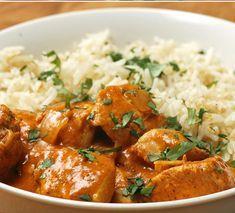 Indické máslové kuře Butter Chicken, Curry, Voici, Ethnic Recipes, Vietnam, Food, Indian, Curries, Essen