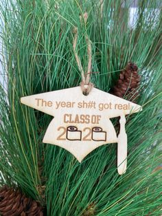 Personalized Wood Signs, Personalized Ornaments, Graduation Ornament, Last Name Signs, Business Signs, Letter Wall, Laser Engraving, Sunshine, Birthdays