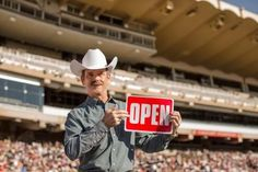 Col. Chris Hadfield shows Calgary is OPEN! #yycisopen