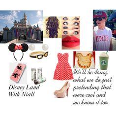 """Disney Land With Niall"" by alwayssmiledanii on Polyvore"
