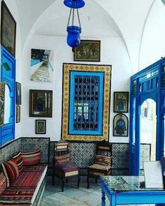 Traditional #Tunisian House  Dar Annabi museum, Sidi Bou Saïd
