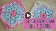 Crochet African Flower Square – Video Tutorial