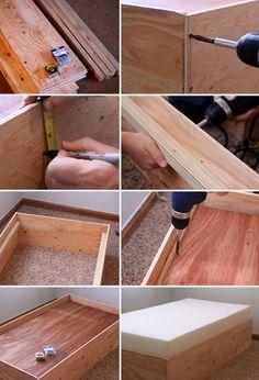 DIY Toddler bed Part 1