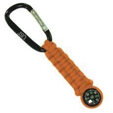 Survival Compass Keychain