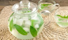 """Fresh mint iced tea (or """"What I can finally use that mint for from the garden"""")"""