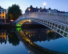 Halfpenny Bridge - Dublin, Ireland