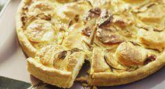 Quiche au fromage de chèvreVoir la recette de la Quiche au fromage de chèvre >> Quiches, Apple Pie, Brunch, Pizza, Menu, Cooking, Breakfast, Desserts, Zucchini