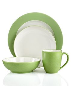 Noritake Colorwave Apple Dinnerware Collection