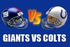 Watch New York Giants vs Indianapolis Colts Game Live Online Stream