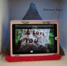 Tablet Pillow Crochet Pattern on Etsy