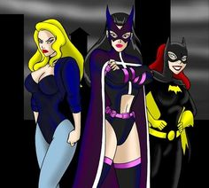 Black Canary, Huntress, Batgirl