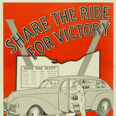 Share the Ride  US- Ohio  c. 1942-1945