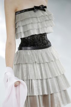 Details: Chanel, Haute Couture Spring/Summer 2014.