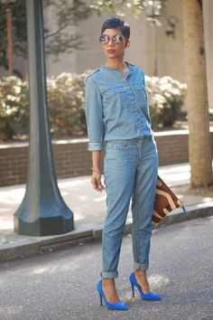 Nothing makes my heart smile like a one-and-done piece of clothing! I am definitely a minimalist when it comes to clothes and accessories. Anywhoo….this denim jumpsuit has versatility, it can…