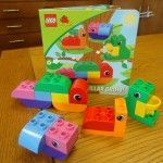 Duplo storytime at the library