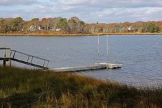 135 feet of direct frontage on saltwater Meetinghouse Pond - 30 Tides End Ln, East Orleans, MA - Offered by David Newell - http://www.raveis.com/mls/21209831/30tidesendln_orleans_ma#