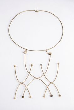 Claire Falkenstein, Necklace, c. 1948, collection of the Long Beach Museum of Art, gift of the Falkenstein Foundation, Photograph courtesy of LACMA