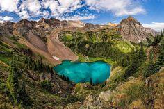 20 travel destinations in the US | 8. Blue Lakes around San Juan Mountain, Colorado.