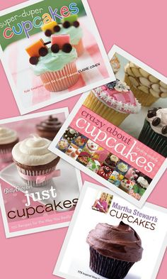 "...more books about cupcakes! ""More to add to my wishlist"""