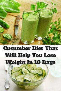 Cucumber Diet That Will Help You Lose Weight In 10 Days – Daily Health Corner