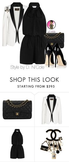 """""""Untitled #2683"""" by stylebydnicole ❤ liked on Polyvore featuring Chanel, Roberto Cavalli, Zimmermann and Jimmy Choo"""