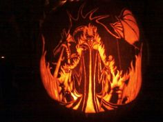 My jack-o-lantern from last year.