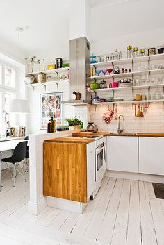 This one in Stockholm. | Community Post: 21 Beautiful Kitchens You'll Want To Cook In Right Now