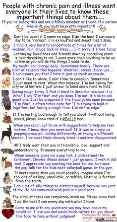 People with Chronic pain & illness want you to know. (The eye rolls always piss me off.)