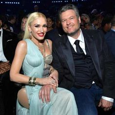 A Stylish Duo from All of Gwen Stefani's Looks at the 2020 Grammy Awards What a chic couple! Blake Shelton Gwen Stefani, Blake Shelton And Gwen, Gwen Stefani And Blake, Celebrity Couples, Celebrity Gossip, Celebrity News, Celebrity Style, Blake Shelton Birthday, Latin Grammys
