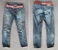 Top 13 Raw Denim Fades of 2013 - Fade Friday