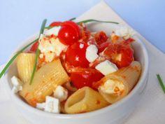Rigatoni Pasta Vera freddi con pomodori secchi e robiola    By Gabriella Lomazzi    www.pastavera.it    https://www.facebook.com/Pastavera