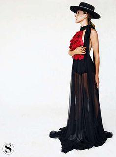 Cultural Couture Editorials : Flamenco Dancer Fashion
