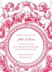 Happy Putti - Wedding invitation cards