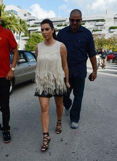Celeb Diary: Kim Kardashian @ Serendipity 3 in Miami Beach