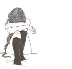 Resultado de imagem para desenhos tumblr preto branco meninas