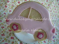 dulce y algo salado-cursos de galletas decoradas: Galletas decoradas...para Carla!