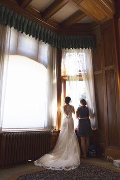 Sisters watching the guests arrive - Victoria wedding - Sooke - Hatley Castle Hatley Castle, Wedding Photos, Wedding Day, Victoria Wedding, Vancouver Wedding Photographer, Sisters, Wedding Photography, Wedding Dresses, Roads