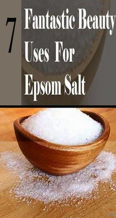 DS exclusive. 7 Surprising Beauty And Health Uses For Epsom Salt: 7 Surprising Beauty And Health Uses For Epsom Salt