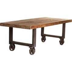 $1,844.64 Free shipping. No tax Houzz rustic wood table with modern industrial metal legs - Google Search