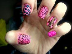 Fotos de uñas color Rosa – 42 nuevas imágenes – Pink nails | Pintar Uñas