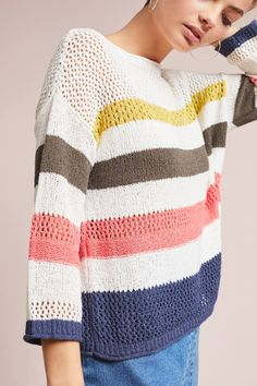 Shop the Portloe Striped Sweater and more Anthropologie at Anthropologie today. Read customer reviews, discover product details and more.