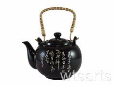 Tang Tea Poem Chinese Teapot, tea pot with Infuser.