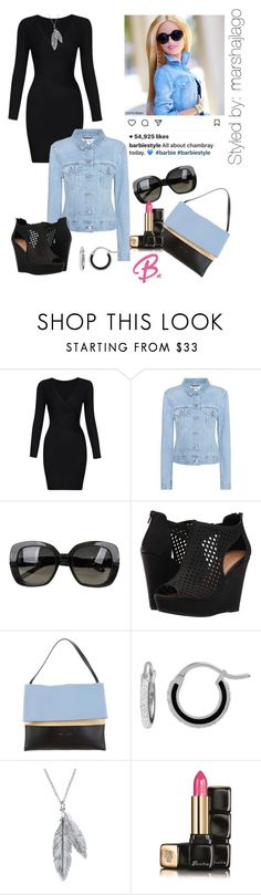 """Barbie & Me #5"" by marshajlago ❤ liked on Polyvore featuring Acne Studios, Bottega Veneta, Chinese Laundry, CÉLINE, Raphaele Canot, Nina B and Guerlain"