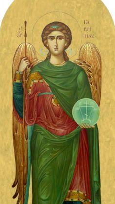Icon: Archangel Raphael. #AngelaMedium #GuardianAngelMessenger
