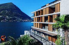 Hotel 'Il Sereno' designed by Patricia Urquiola on lake Como.