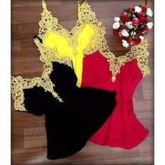 Camisas Regatas Feminina De Viscose Com Renda Guipir - R$ 29,97 no MercadoLivre